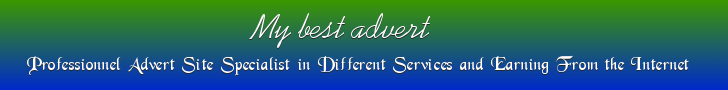 Different Services and Earning From the Internet. - https://mybest-advert.blogspot.com/